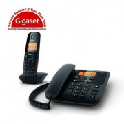 Gigaset A730 Corded Cordless Combo Phone (Black)