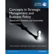 Concepts in Strategic Management and Business Policy, Global Edition by Thomas L. Wheelen
