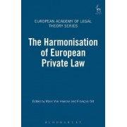 The Harmonisation of European Private Law by Mark Van Hoecke