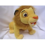 """Lion King Simba Ready To Roar Plush Toy Talking 15"""" Collectible ; """"When I Was Little, I Had A Little Roar, But......."""""""