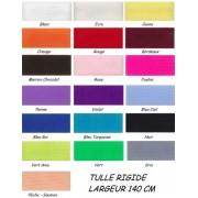 Tulle rigide au metre large 150 cm - 24 coloris