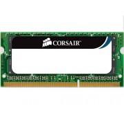 Corsair CM3X2GSD1066 Modulo di Memoria da 2 GB, DDR3, 1066 MHz, CL7, SODIMM, Nero