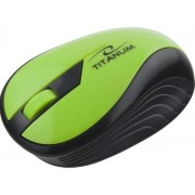 Mouse Esperanza Titanum Rainbow, Wireless (Verde)