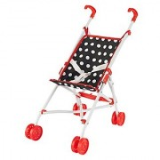 KidKraft Darling Doll Stroller (Accommodates American Girl Dolls) Red