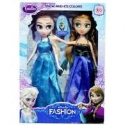 Scrazy Frozen Anna Elsa Doll