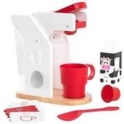 KidKraft Red & White Coffee Playset