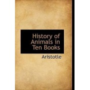 History of Animals in Ten Books by Aristotle