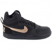 Nike Дамски Кецове Court Borought Mid Prem 844907 002
