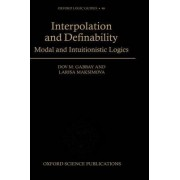 Interpolation and Definability by Dov M. Gabbay