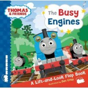 Thomas & Friends: The Busy Engines Lift-the-Flap Book by No Author