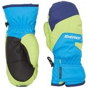 Ziener bambini sci Lizzardolo AS (R) Mitten Glove Junior guanti da sci, Bambini, LIZZARDOLO AS(R) MITTEN glove junior, Persiano blu, 4