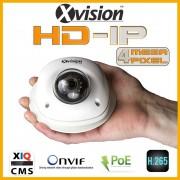 IP kamera bezpečnostná DOME 4Mpix s 15m IR - BIELA