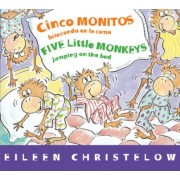 Cinco Monitos Brincando En La Cama/Five Little Monkeys Jumping on the Bed by Victoria Ortiz