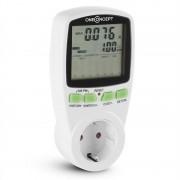 oneConcept True Grid, energiafelhasználás mérő, áramra kiadott költségek, 2 tarifa (PMS-True-Grid)