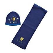 Nickelodeon Sponge Bob H10F4231 Boy's Hat and Scarf Set