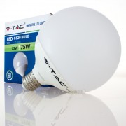 Lâmpada LED E27 13w»75W Luz Quente 1055Lm G120 GLOBO