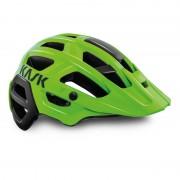 Kask Rex Casco verde/nero Caschi per MTB