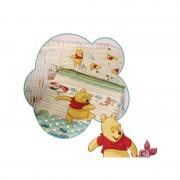 TRAPUNTA PIUMONE invernale lettino culla Disney WINNIE baby C/PARACOLPI 501 C934