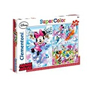 Clementoni 25198. 8-3 x 48 x Minnie Sport Classic Puzzle