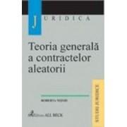 Teoria generala a contractelor aleatorii.