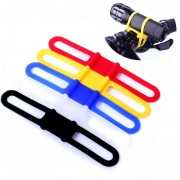 High Strength Elastic Silicone Fixed Bike Bicycle Straps Holder For Cellphone Flashlight Mount Strap Bandage Bike Accessories