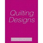 Quilt Designer's Graph Paper Journal 120 Quilt Design Pages 1/4 Diagonal Grid by Spicy Journals