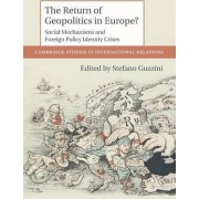 The Return of Geopolitics in Europe? by Stefano Guzzini