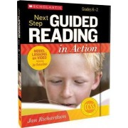 Next Step Guided Reading in Action, Grades K-2 by Jan Richardson