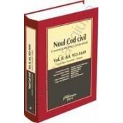 Noul Cod civil. Comentarii, doctrina si jurisprudenta. Vol. II Art.953-1649. Mosteniri si liberalitati. Obligatii