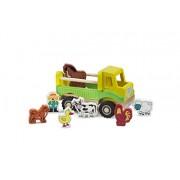 Nuovi giocattoli classici - 1945 - veicoli in miniatura - semplice modello - fattoria camion e le cifre