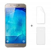 "Samsung A8000 2 + 16GB Galaxy A8 Dual Sim Android 5.1 Octa Core 5.7 ""FHD 5 + 16MP Oro + Protector De Pantalla + Estuche"