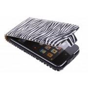 Zebra flipcase voor de iPod Touch 4G