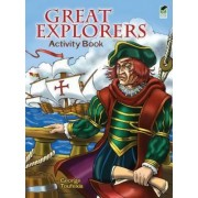 Great Explorers Activity Book by George Toufexis
