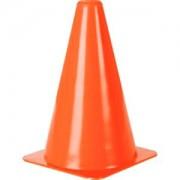 Cone Demarcatório 20cm Flexível - Tamanho Único (20 cm)