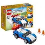 LEGO Kék versenyautó
