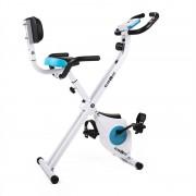Klarfit Azura Pro Bicicleta estática con respaldo Plegable 100kg