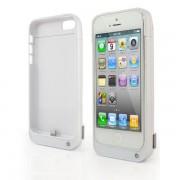 Baterie Externa Husa iPhone 5 5S Alba