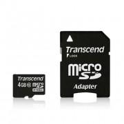 Memorijska kartica TS4GUSDHC10 Micro SD 4GB TRANSCEND
