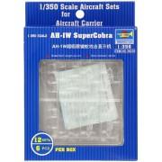 Trompetista 1/350 AH-IW de Super Cobra x 6 por caja # 06255