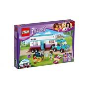 LEGO Friends - 41125 - La Remorque À Chevaux Du Vétérinaire