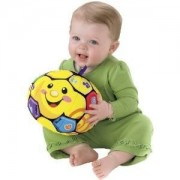 Toy / Game Fisher Price Laugh & Learn Singin Soccer Ball Teaches Counting, Abcs, Sportsmanship And More