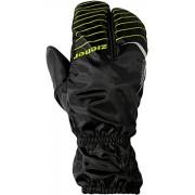Ziener Bike cerbero AS Bike Gants 8,5 Noir - Noir/vert lime