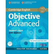 Dell Objective Advanced Student's Book with Answers with CD-ROM Fourth Edition