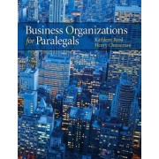 Business Organizations for Paralegals by Kathleen Reed