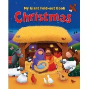 My Giant Fold-Out Book Christmas by Tracy Harrast