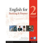 English for Banking & Finance Level 2 Coursebook and CD-ROM Pack by Marjorie Rosenberg