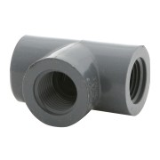 "LASCO Fittings Schedule 80 - 1/2"" Tee (FPT x FPT x FPT) - 805-005"