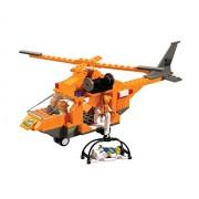 Sluban Srs Rescue Team Rescue Copter 160 Pieces Lego Compatible