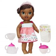 Baby Alive Lil' Sips Baby Has a Tea Party Doll (African American) by Baby Alive