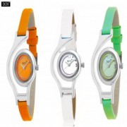 Dch Round Dial Multi Analog Watch Combos For Women-Gw-16